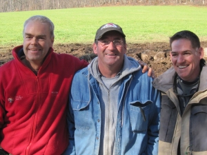 Michael Murphy, Neil Rippingale, and Dale Mitchell, taken at Hopewell Furnace, Elverson, Pennsylvania.
