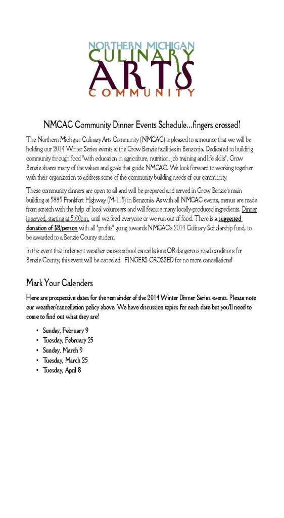 2014 NMCAC Winter Series
