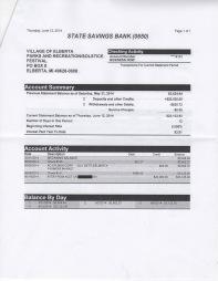 June 12 P&R/Solstice Bank Statement, page 2