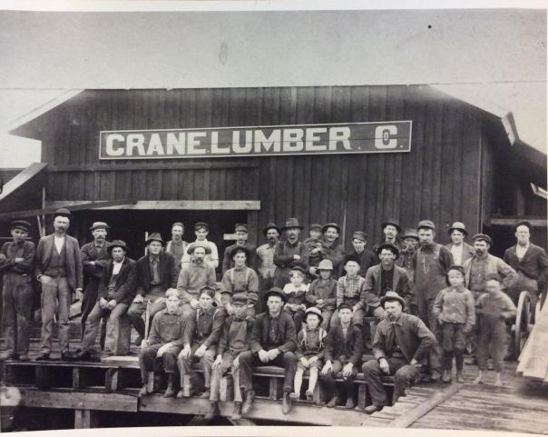 Crane Lumber Crew 1895