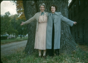 Maggie and Margaret McManus, 1954